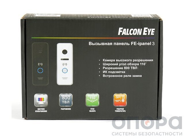 Вызывная панель Falcon Eye FE-ipanel 3 ID (black)
